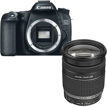 Canon EOS 70D kit EF 24-105mm f/4L IS USM