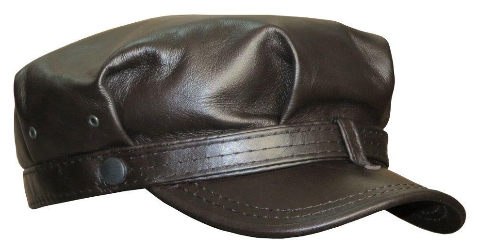 Баркер Наппа коричневая