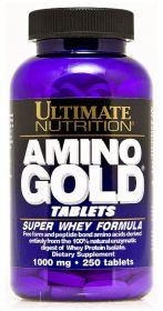 Amino Gold Formula 1000mg от Ultimate Nutrition 250 таблеток