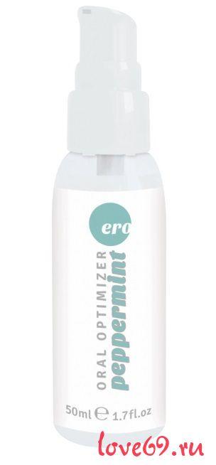Увлажняющий гель для орального секса с ароматом мяты - 50 мл.