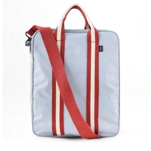 Складная дорожная сумка для путешествий с плечевым ремнём, 28х13х36 см, цвет - серый.