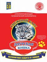 """Наполнитель 3,8л Даурская кошка """"Снежный барс""""селикогель 1/5"""