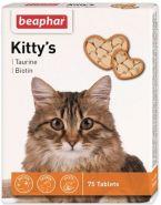 Beaphar Kitty's + Taurin-Biotin Кормовая добавка для кошек с биотином и таурином (180 табл.)