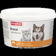 Beaphar DruCal Минеральная смесь для кошек и собак с ослабленной мускулатурой (250 г)