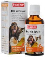 Beaphar Bea Vit Totaal Кормовая добавка для всех домашних животных и птиц (50 мл)