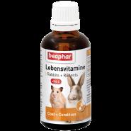 Beaphar Lebensvitamine Кормовая добавка для грызунов (50 мл)