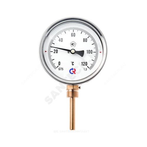 """Термометр биметаллический радиальный Дк63 L=64мм G1/2"""" 120С БТ-32.211 Росма"""