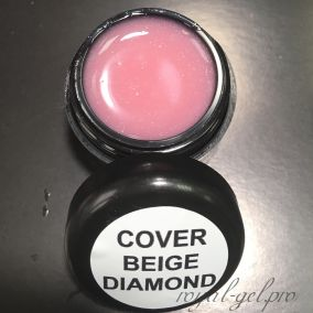 COVER BEIGE DIAMOND ROYAL GEL 50 мл