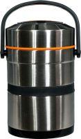Термос Steel Food L 2,6 литра с тремя ёмкостями