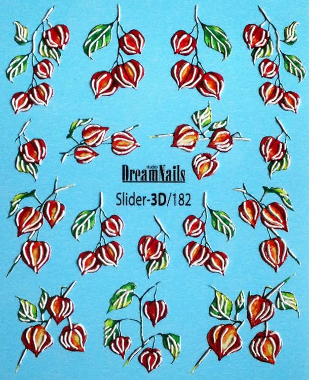 Слайдер-дизайн Dream Nails 3D/182