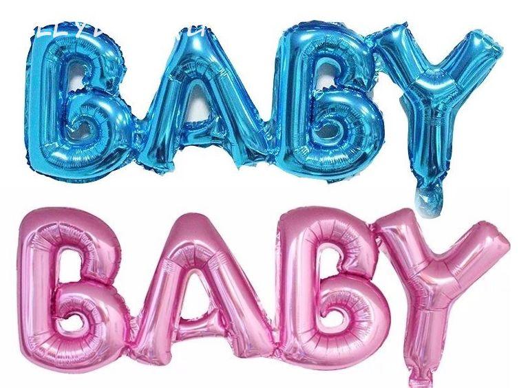 """Надпись c воздухом """"Baby"""" 81*27,5см"""