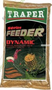 Прикормка Traper Feeder Series Dynamic (Фидер серия - Лещ Плотва Язь Голавль) 1кг