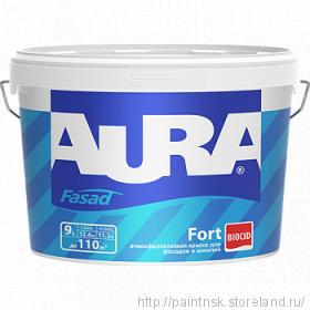 Краска для фасадов и цоколей Aura Fasade