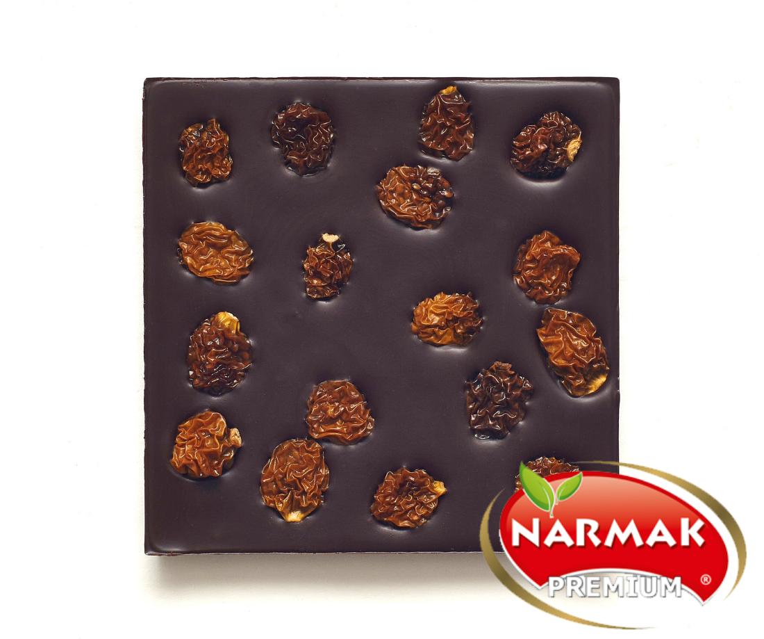 Шоколад без сахара с физалисом на пекмезе