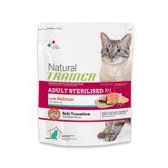 Trainer Natural Adult Sterilised With Salmon Корм с лососем для взрослых стерилизованных кошек (1,5кг)