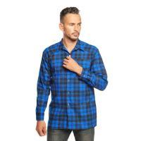 Рубашка  мужская  фланель  №UZ160-1