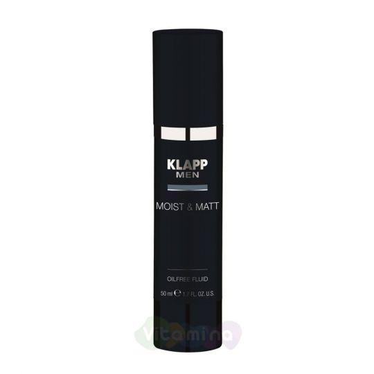 Klapp Увлажняющий и матирующий флюид Moist & Matt - Oilfree Fluid, 50 мл