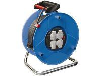 Удлинитель на катушке Brennenstuhl Garant 25 метров; 4 розетки; кабель H05VV-F 3G1,5; IP20 (1215056)