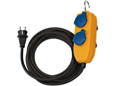 Удлинитель Brennenstuhl с блоком розеток IP54, кабель 5 м, H07RN-F 3G1,5; 4 розетки (1169200010)