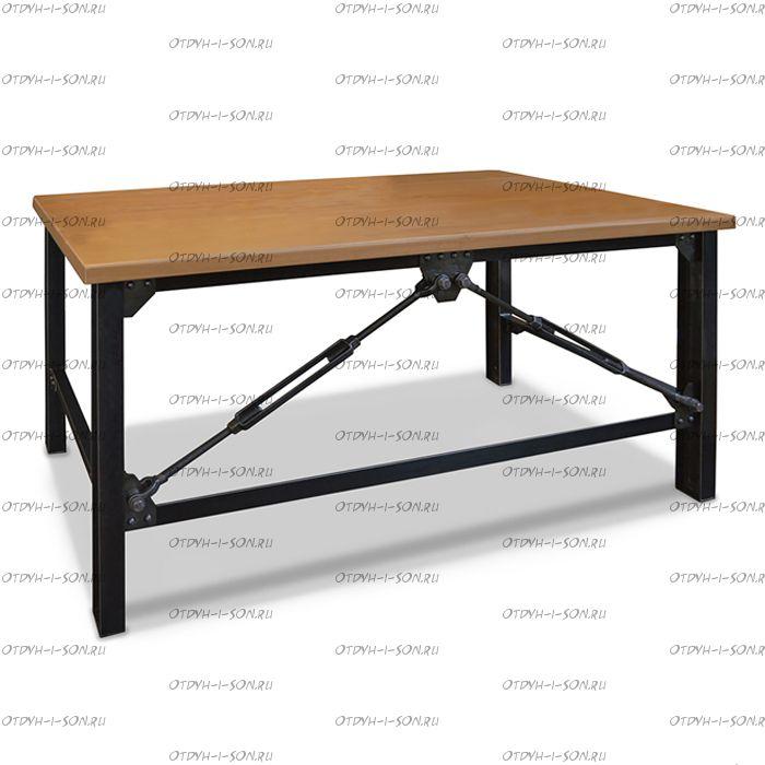 Стол обеденный Бруклин (ВМК Шале) (130х60х75)