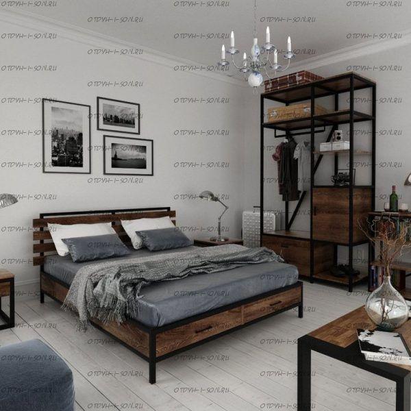 Кровать Loft №1