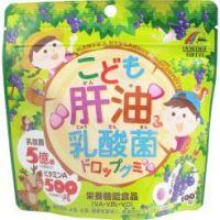 Unimat Riken Лактобактерии с витаминами для детей