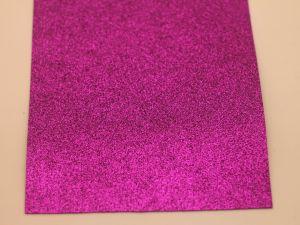 """Фоамиран """"глиттерный"""" Китай, толщина 2 мм, размер 40x30 см, цвет № Ф013 (1 уп = 5 листов)"""