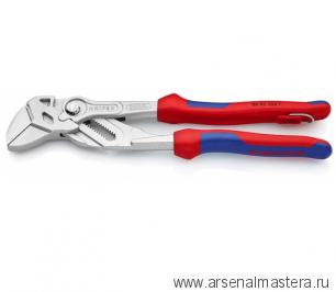 Ключ клещевой переставной - гаечный ключ (КЛЮЧ КЛЕЩЕВОЙ) KNIPEX 86 05 250T