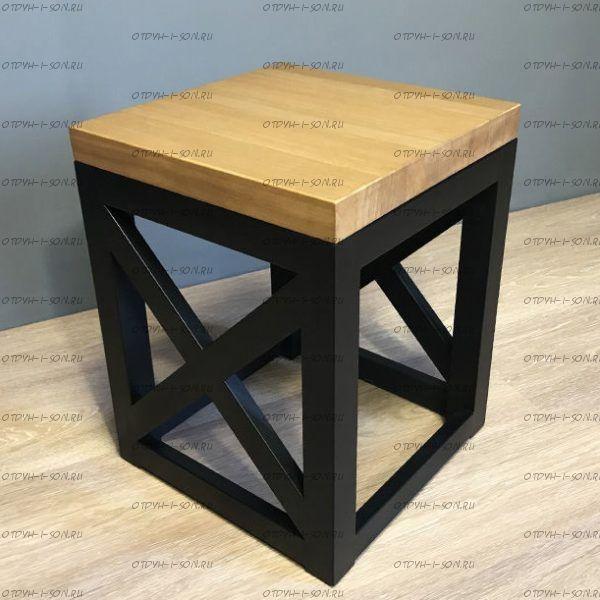 Стол журнальный Loft №2 (40х40х45)