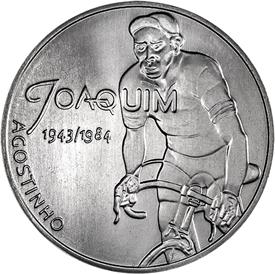 """Жоаким Агостиньо 7,5 евро Португалия 2019 Серия """"Герои спорта"""""""