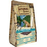Natural Greatness Field&River Recipe Беззерновой корм на основе свежего мяса лосося и ягненка для кошек (2кг)