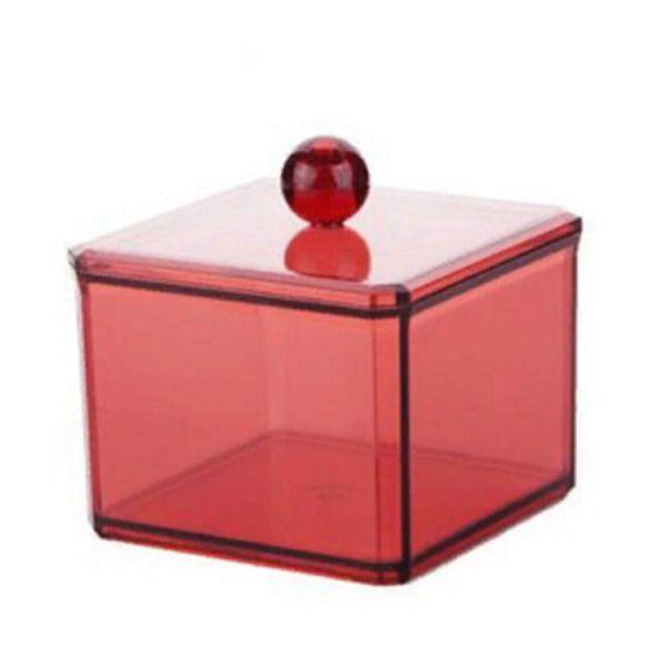 Акриловый Контейнер Для Хранения Мелочей Multi-Functional Storage Box, Модель 3124, Цвет Бордовый