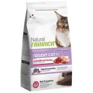 Trainer Natural Exigent with Beef & Fresh Chicken Корм с говядиной и курицей для привередливых кошек (1,5кг)