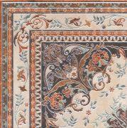 Мраморный дворец Декор ковёр угол лаппатированный HGDA174SG1550  40,2х40,2