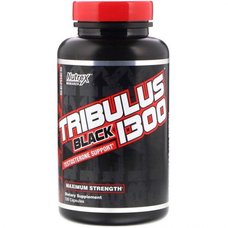 Tribulus Black 1300 от Nutrex 120 капсул