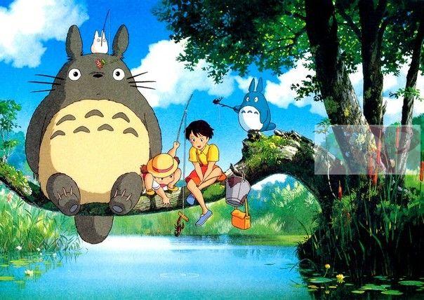 Плакат Tonari no Totoro