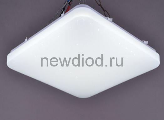 Управляемый светодиодный светильник Quadro 628 60Вт-4800Лм 550мм 6/3/4000K Oreol