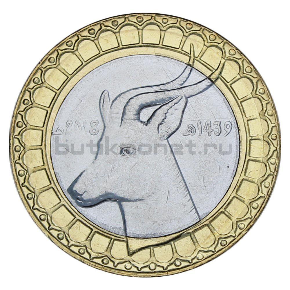 50 динаров 2018 Алжир