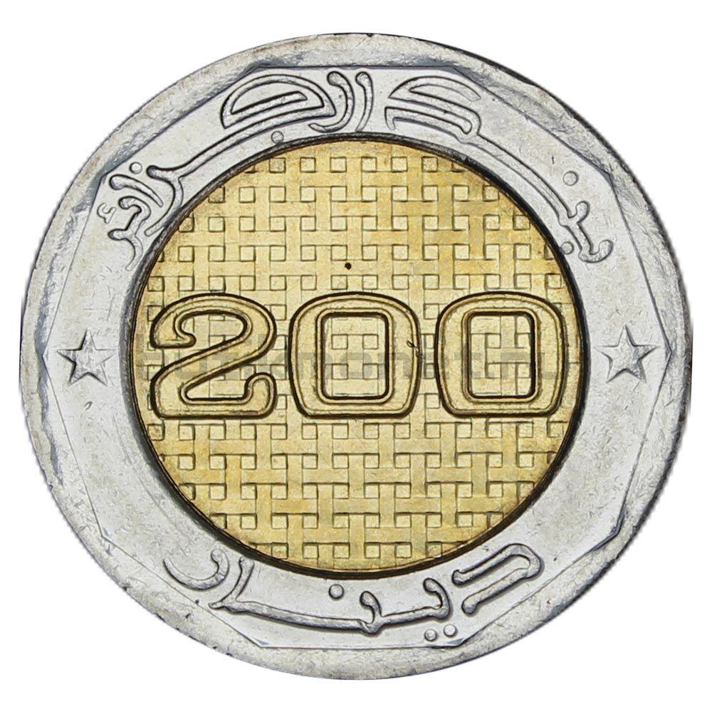 200 динаров 2018 Алжир 50 лет Независимости