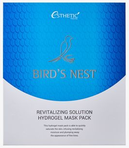 BIRD'S NEST REVITALIZING HYDROGEL MASK PACK Гидрогелевая маска для лица, 1шт