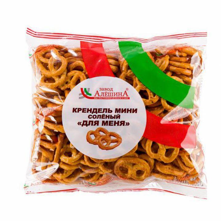 Крендельки Для меня (для папы) соленый 200г Черногорск