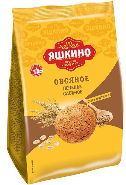 Печенье Овсяночка 350г Яшкино