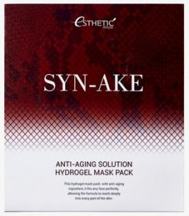 SYN-AKE ANTI-AGING SOLUTION HYDROGEL MASK PACK Гидрогелевая маска для лица, 1шт
