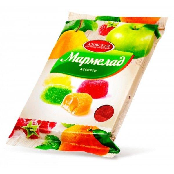 Мармелад желейный ассорти 300г Азов