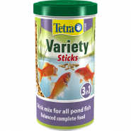 TETRA Pond Variety Sticks Корм (палочки) смесь 3-х видов 10л.