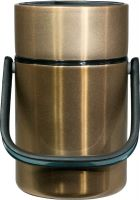 Термос Steel Food M 2,2 литра с тремя ёмкостями