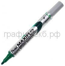 Маркер д/доски зеленый MWL5S-D Maxiflo с подкачкой Pentel