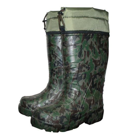 Сапоги зимние Каблан ЭВА -55 камуфляжные
