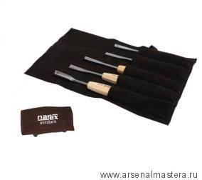 Набор резцов Narex Standart 5 шт в сумке  894510