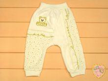"""Штаны для новорожденных с широкой резинкой 01014 (велюр) """"Мамин Малыш"""""""
